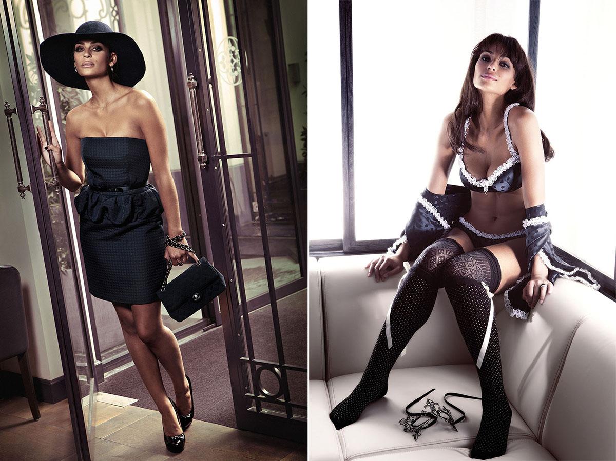 Tatiana Silva présentarice météo de TF1 sexy glamour