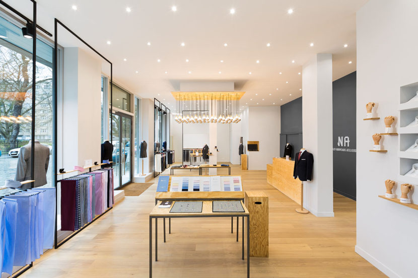 Boutique Ateliers NA à Bruxelles Square Orban
