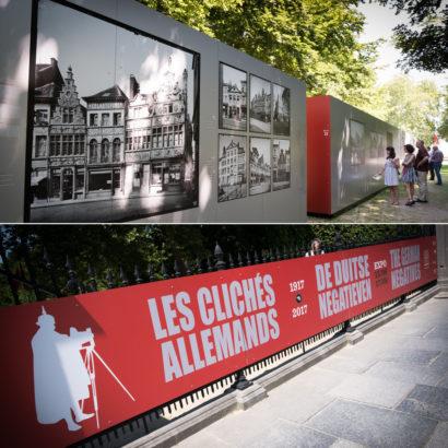 Exposition photos : Le patrimoine artistique belge à travers l'objectif de l'Occupant.