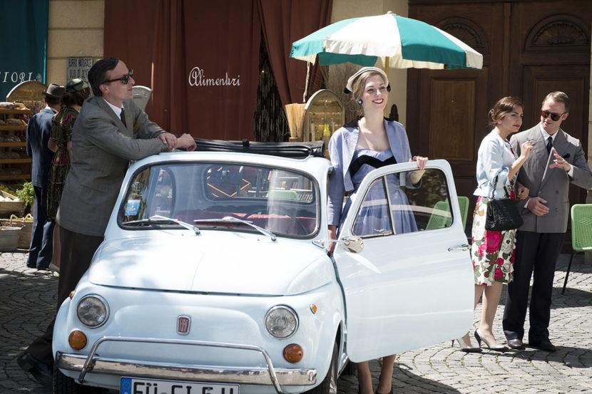 500 Forever Young Tour à Munich pour les 60 ans de la Fiat 500