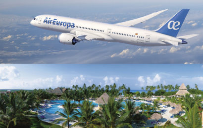 Boeing 787 Dreamliner d'Air Europa et Hôtel Be Live Collection Canoa La Romana