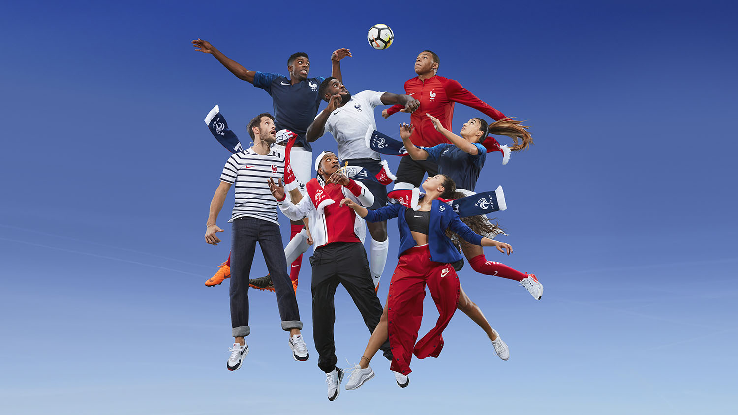 Photo de Jean-Paul Goude équipe de France 2018-2019