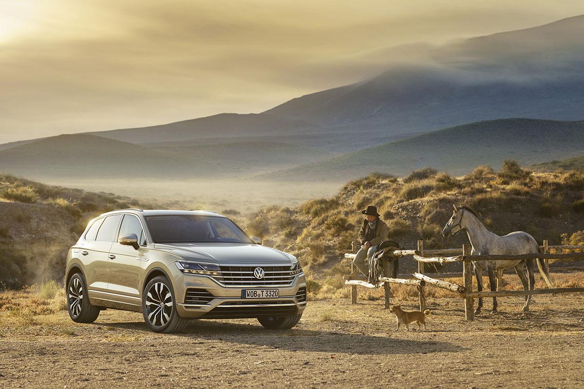 Le nouveau Volkswagen Touareg 2018