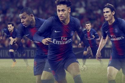 Neymar avec la nouvelle tenue pour la saison 2018-2019 du PSG