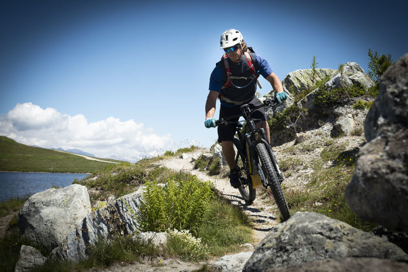 Tour du Mont-Fort à Verbier en VTT électrique avec José Carron de Pure Biking Verbier